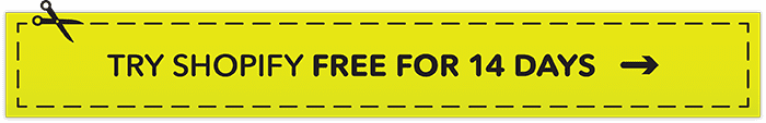 Try Shopify FREE for 14 days using this link